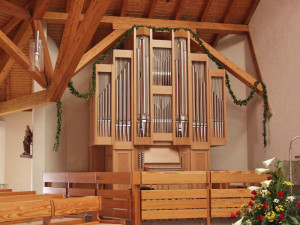 Orgelbau St. Silvester in Rottweil-Bühlingen